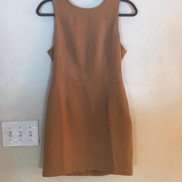 Forever 21 Dresses & Skirts - Tan sleeveless sheath dress